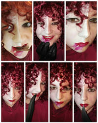 Typhoid Mary makeup test by Slayer730