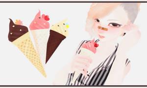 Ice Cream [Download Link] by tweekcrystal