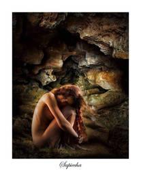 Cave nude by JenSomerfield