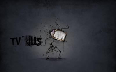 TV Kills by RabensteinerDesign