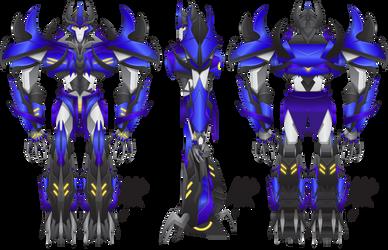 Transformers Prime: Predacon OC - SkipShot by MessyArtwok