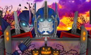 A TFP Halloween and Dia de los Muertos by MessyArtwok