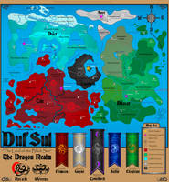 The World of Dul'Sul | The Dragon Realm by MessyArtwok