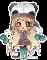 Chibi1Panda Commission by Minty-Kitty-Art
