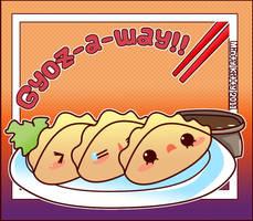Gyoz-a-way by Minty-Kitty-Art