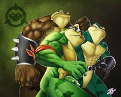 Battletoads by JAG-Comics