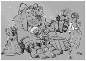 Cute Handyman! by JAG-Comics