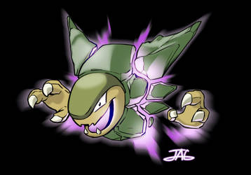 Pokemon Fusion: Golem + Haunter = GOLTER by JAG-Comics