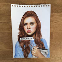 Holland Roden as Lydia Martin from Teen Wolf by lefttoshine
