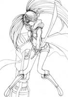 Black Rock Shooter by quangtung1008