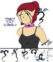 Megumi + sir Kawa II by Megumiinelite