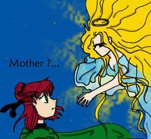 Megumi + her Mother by Megumiinelite