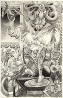 Algebraic-goddess by knotty-inks