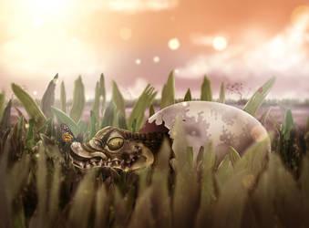 Little Alligator by Beleleu