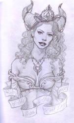 Ruby Sketch by Valadomi