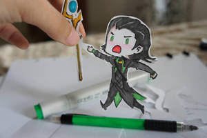 Loki Paper Child by SoonToBeMangaka