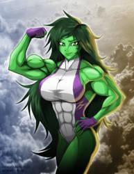 She-Hulk by Minamo21