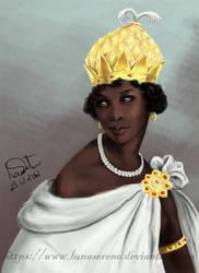 Queen Nzinga Mbandi by lunaSerene
