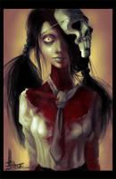 Zombi girl by AlisZombie