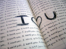 Love is bigger than Hate by sakuraartist