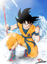 Son Goku - 2018 Movie by Theo001