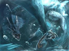 Leviathan rage by NewRoyalDragon