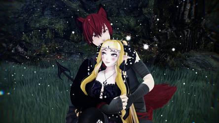 Sean y Ophelia by teresahomma