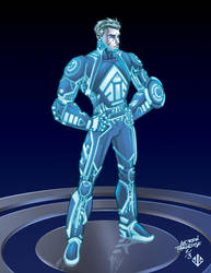 Tron submission for Tron2.0 by crackmatrix