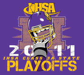 Sages State Playoff T-Shirt by crackmatrix