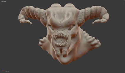 Speed Sculpt - DOOM by Starframe3D