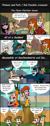 Kim Possible and Phineas and Ferb crossover by Most-High-Studios