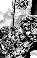 Hellboy by claudiomunoz002