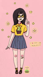 [collab with vaeda !!!] succ and stars by rinkotamako