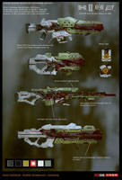 hybrid_weapons by sobaku-chiuchiu
