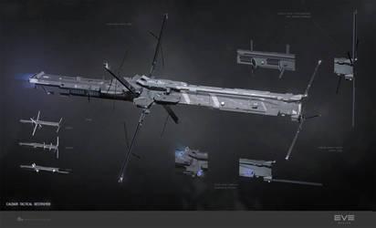 Jackdaw, Caldari tactical destroyer by sobaku-chiuchiu