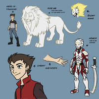 EnterVoid: Astroleo Character sheet by Impious-Imp