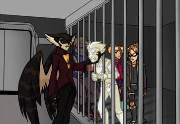 Artfight: Caged Birds by Impious-Imp