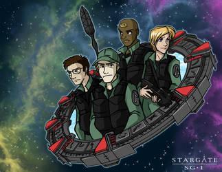 Stargate SG-1 by Impious-Imp