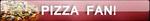 Supreme Pizza Fan Button by Supremechaos918