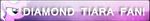 Daimond Tiara Fan Button by Supremechaos918