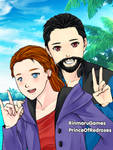 Gift- Tina and Ryan birthday selfie by Supremechaos918