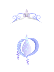 Amari Crown And Fairy Dust Bottle by Supremechaos918