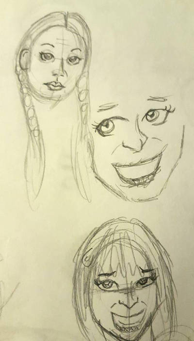 Female Faces  by rigart