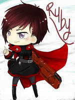 RWBY - Chibi Ruby by UnluckyThatsMe