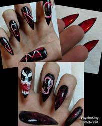 Venom claws by Crazykittygirl-19