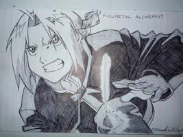 Full Metal Alchemist - Edward by Mikeymystery