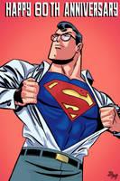 Happy 80th Anniversary SuperMan by TheamazingBlackman