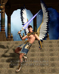Archangel Michael by angeliqueart