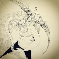 Evelia the Elven Warrior by ShadowSakura25