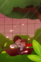 Fireflies by kurisquare
